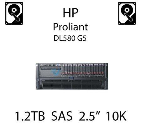 """1.2TB 2.5"""" dedykowany dysk serwerowy SAS do serwera HP ProLiant DL580 G5, HDD Enterprise 10k, 12GB/s - 785079-B21  (REF)"""