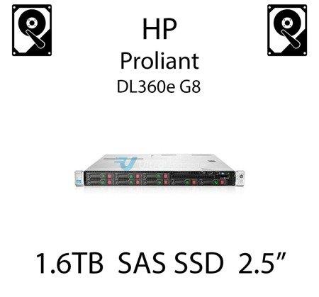 "1.6TB 2.5"" dedykowany dysk serwerowy SAS do serwera HP Proliant DL360e G8, SSD Enterprise  - 762751-001 (REF)"