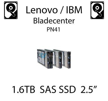 "1.6TB 2.5"" dedykowany dysk serwerowy SAS do serwera Lenovo / IBM Bladecenter PN41, SSD Enterprise , 600MB/s - 49Y6195"