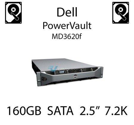 """160GB 2.5"""" dedykowany dysk serwerowy SATA do serwera Dell PowerVault MD3620f, HDD Enterprise 7.2k, 3Gbps - K836N"""