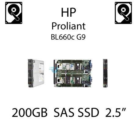 """200GB 2.5"""" dedykowany dysk serwerowy SAS do serwera HP ProLiant BL660c G9, SSD Enterprise  - 653078-B21 (REF)"""