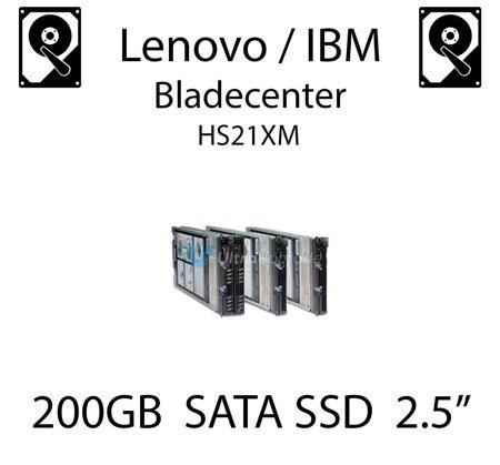 "200GB 2.5"" dedykowany dysk serwerowy SATA do serwera Lenovo / IBM Bladecenter HS21XM, SSD Enterprise , 300MB/s - 41Y8331"