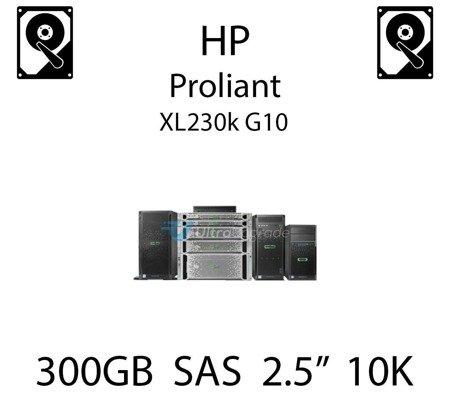 """300GB 2.5"""" dedykowany dysk serwerowy SAS do serwera HP ProLiant XL230k G10, HDD Enterprise 10k, 12Gbps - 872475-B21"""
