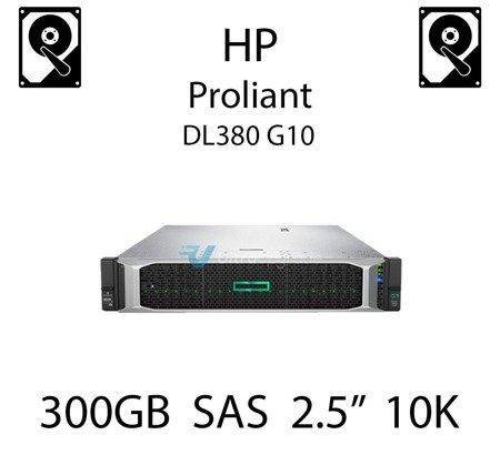 """300GB 2.5"""" dedykowany dysk serwerowy SAS do serwera HP Proliant DL380 G10, HDD Enterprise 10k, 12Gbps - 872475-B21"""