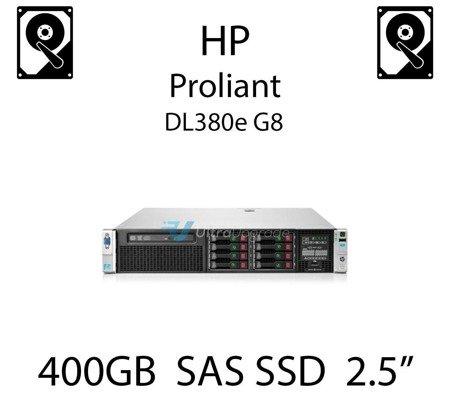 """400GB 2.5"""" dedykowany dysk serwerowy SAS do serwera HP ProLiant DL380e G8, SSD Enterprise  - 802582-B21 (REF)"""