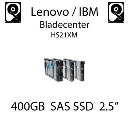 "400GB 2.5"" dedykowany dysk serwerowy SAS do serwera Lenovo / IBM Bladecenter HS21XM, SSD Enterprise , 600MB/s - 49Y6149"