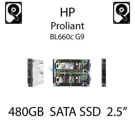 """480GB 2.5"""" dedykowany dysk serwerowy SATA do serwera HP ProLiant BL660c G9, SSD Enterprise  - 757371-001 (REF)"""