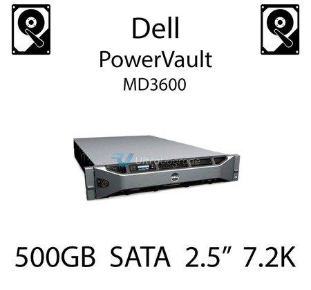 """500GB 2.5"""" dedykowany dysk serwerowy SATA do serwera Dell PowerVault MD3600, HDD Enterprise 7.2k, 320MB/s - 00X3Y"""