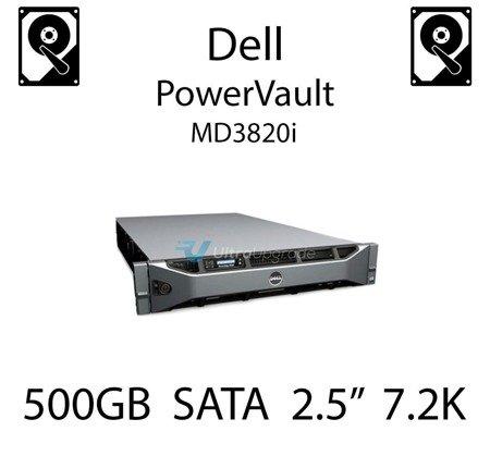 """500GB 2.5"""" dedykowany dysk serwerowy SATA do serwera Dell PowerVault MD3820i, HDD Enterprise 7.2k, 300MB/s - J770N"""