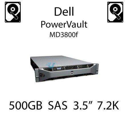 """500GB 3.5"""" dedykowany dysk serwerowy SAS do serwera Dell PowerVault MD3800f, HDD Enterprise 7.2k, 6Gbps - U717K"""