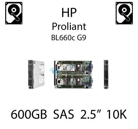 """600GB 2.5"""" dedykowany dysk serwerowy SAS do serwera HP ProLiant BL660c G9, HDD Enterprise 10k, 6Gbps - 652583-B21 (REF)"""