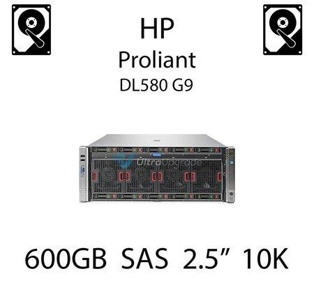 """600GB 2.5"""" dedykowany dysk serwerowy SAS do serwera HP Proliant DL580 G9, HDD Enterprise 10k, 12Gbps - 781577-001 (REF)"""