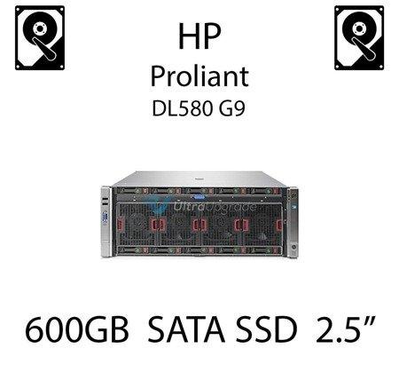 """600GB 2.5"""" dedykowany dysk serwerowy SATA do serwera HP Proliant DL580 G9, SSD Enterprise , 6Gbps - 739898-B21 (REF)"""