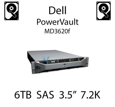 """6TB 3.5"""" dedykowany dysk serwerowy SAS do serwera Dell PowerVault MD3620f, HDD Enterprise 7.2k, 6Gbps - NWCCG"""