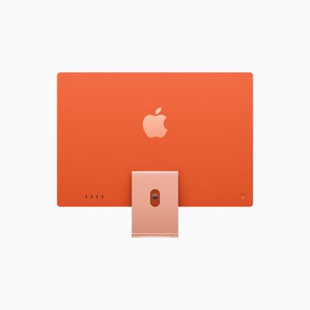Apple iMac 24 Retina 4.5K Procesor M1 8 rdzeni 3,2GHz, GPU 8 rdzeni  SSD 256GB RAM 8GB Pomarańczowy (Orange)