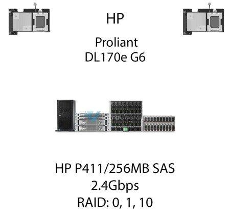 Kontroler RAID HP P411/256MB SAS  462830-B21, 2.4Gbps - 462830-B21