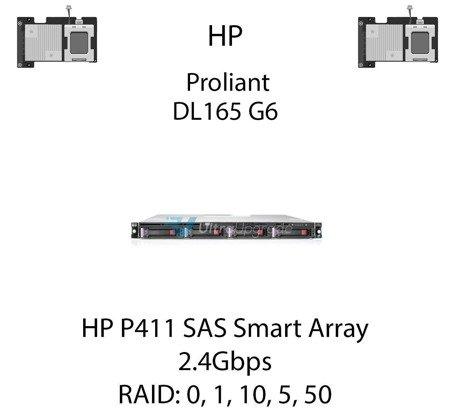 Kontroler RAID HP P411 SAS Smart Array, 2.4Gbps - 572531-B21