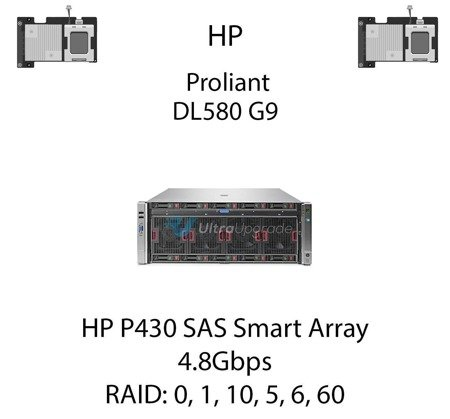 Kontroler RAID HP P430 SAS Smart Array, 4.8Gbps - 698529-B21