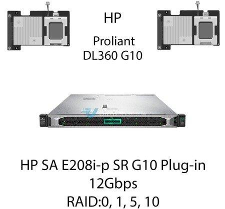 Kontroler RAID HP SA E208i-p SR G10 Plug-in, 12Gbps (SAS) / 6Gbps (SATA) - 804394-B21