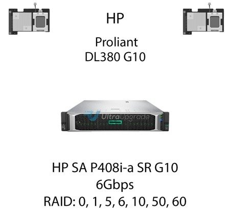 Kontroler RAID HP SA P408i-a SR G10 Modular, 6Gbps - 804331-B21
