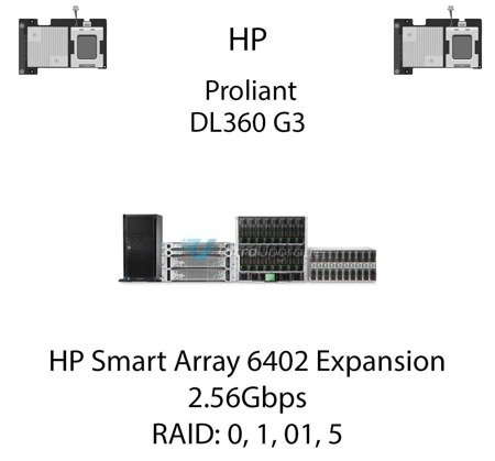 Kontroler RAID HP Smart Array 6402 Expansion Module, 2.56Gbps - 273911-B21