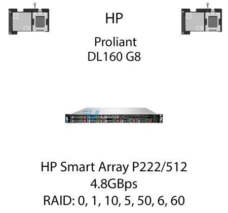 Kontroler RAID HP Smart Array P222/512, 4.8GBps - 631667-B21