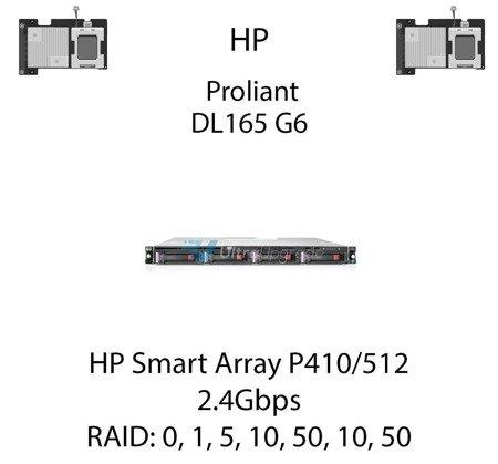 Kontroler RAID HP Smart Array P410/512, 2.4Gbps - 578230-B21